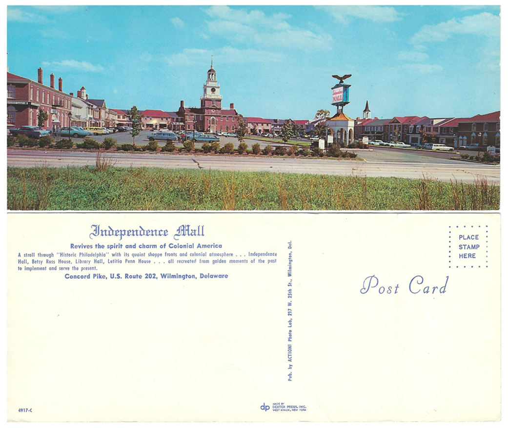 Indy Mall Post Card